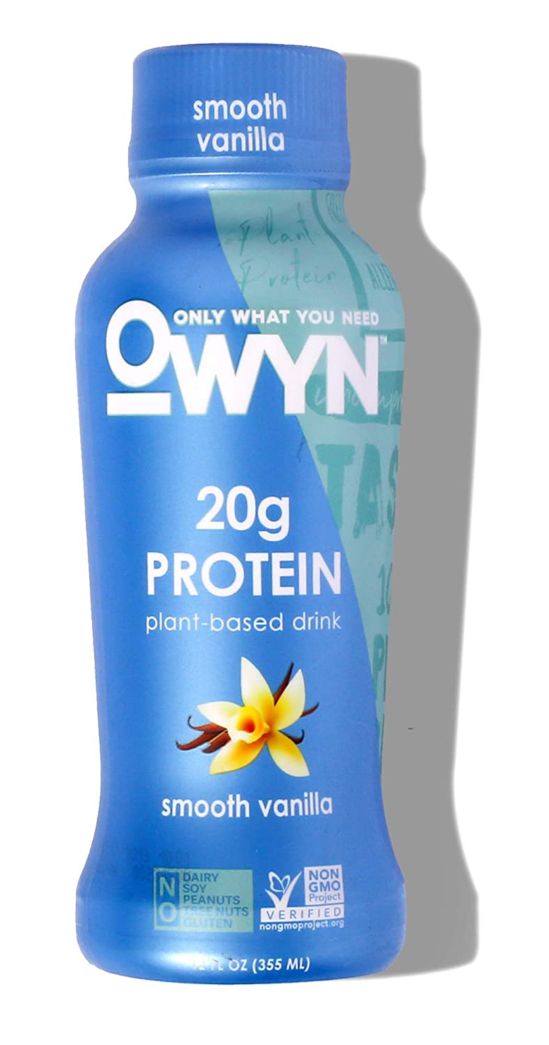 Owyn All stores are sold San Antonio Mall Shake Plant Based Protein Smooth Fl 12 Vanilla Oz
