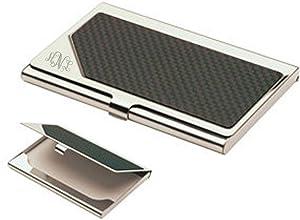 Personalized Carbon Fiber Business Card Case Holder Custom Engraved Free