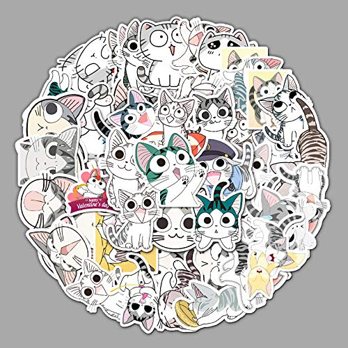 YCYY 53 Cute Private Cat Stickers Creative Starter Cat Suitcase Laptop Car Locomotive Mobile Phone Stickers