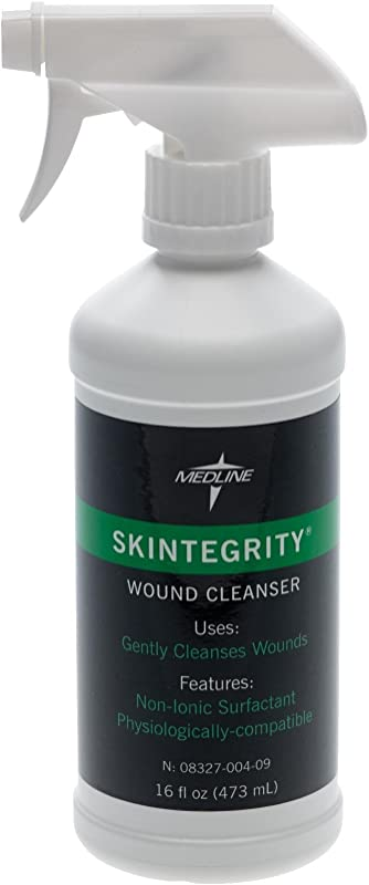 Medline Skin Integrity Wound Cleansers 16 Fl Oz