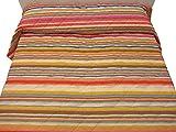 Bassetti Copriletto Trapuntato Double Face RECORTES Giallo Collezione Life Piazza Mezzo cm.220x260 - Peso Primaverile- Tessuto 100% Cotone- Imbottitura in Poliestere