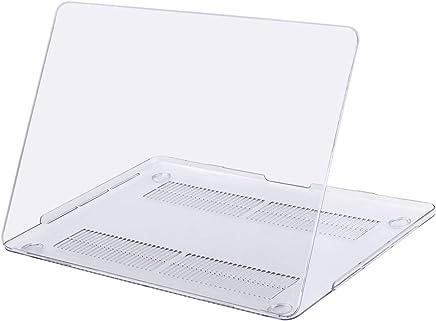MOSISO Funda Dura Compatible 2018 2017 2016 MacBook Pro 13 con/sin Touch Bar A1989 A1706 A1708 USB-C, Ultra Delgado Carcasa Rígida Protector de Plástico Cubierta, Claro Transparente