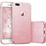 ESR Coque pour iPhone 7 Plus, Coque Silicone Paillette Strass Brillante Glitter de...