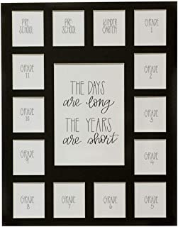 Hope Woodworking Days are Long, Years are Short, 11x14 Black Picture Mat, Preschool-12, 15 Openings, Mat Only