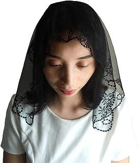 Mantilla Veil Catholic Church Lace Chapel Veil Latin Mass Wedding Headwear Covering