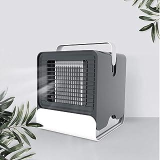 MATMDL Pequeño Aire Acondicionado de enfriamiento, Ventilador de Aire Acondicionado, artefacto de Dormitorio Aire Acondicionado pequeño artefacto, portátil,Black