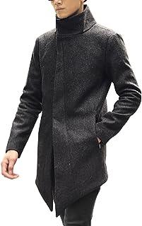 [ミックスリミテッド] コート メンズ アウター ロングコート スタンドカラー チェスターコート ロング丈