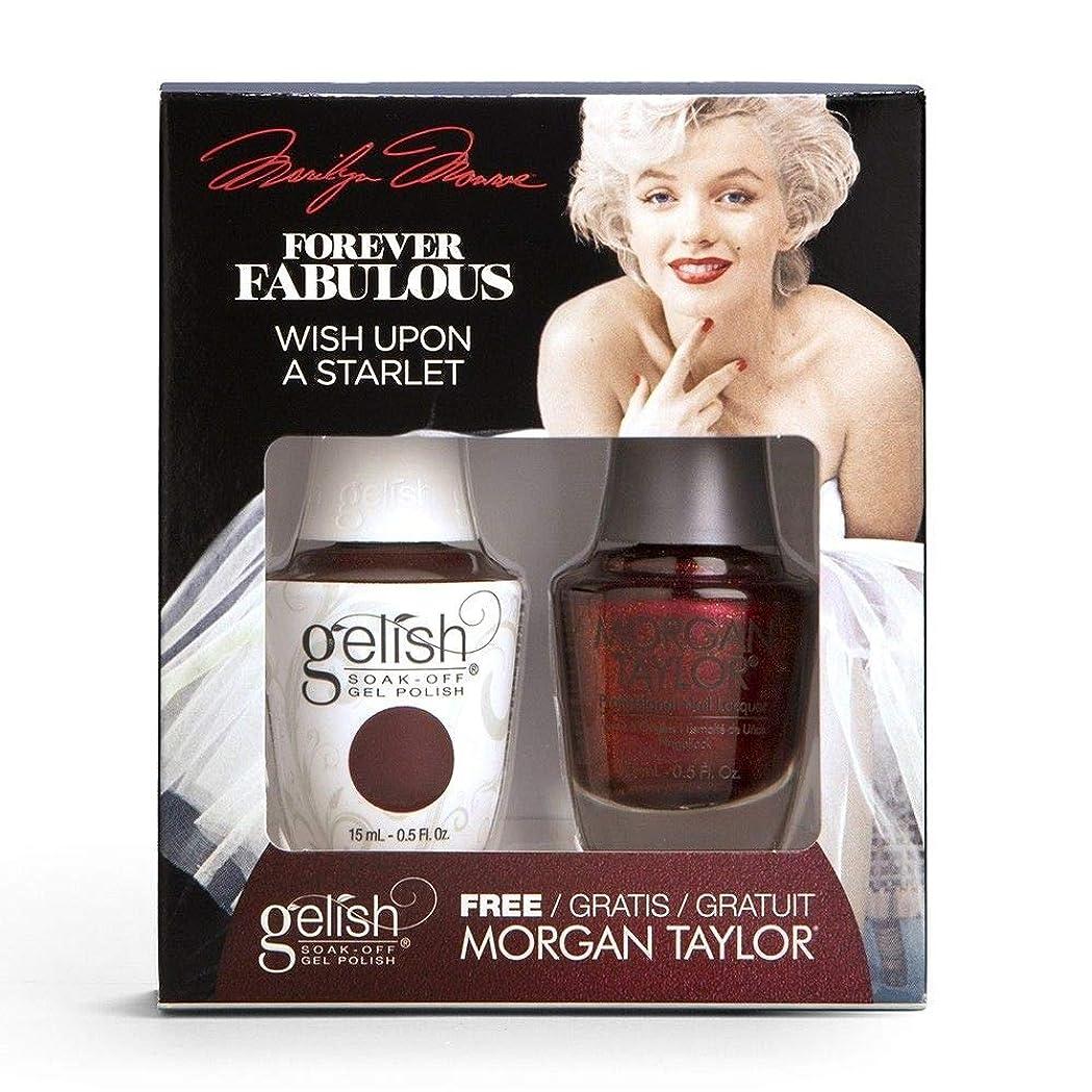 通行人流債務Harmony Gelish & Morgan Taylor - Two Of A Kind - Forever Fabulous Marilyn Monroe - Wish Upon A Starlet - 15 mL / 0.5 Oz