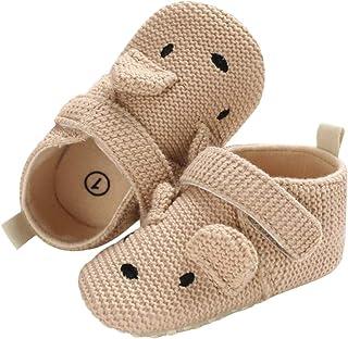 DEBAIJIA Zapatos de Bebé para 6-36 Meses Unisex Niños Niñas Primeros Pasos Pantuflas Infantiles Moda Casual Antideslizante...