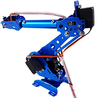 Almencla DIY Robot Arm Gripper Claw Kit 6 DOF Robot
