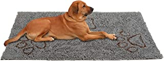 PUPTECK Super Absorbent Dirty Dog Doormat - Non Skid Microfiber Pet Door Runner Mat