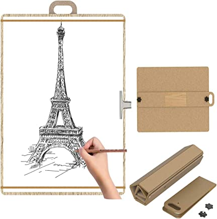 AFFC Foldable Sketch Portable Drawing Board, Wooden Portable Artist Drawing and Sketching Board (21.26