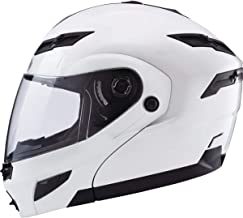 Gmax GM54S Modular Men's Street Motorcycle Helmet - Pearl White/Medium