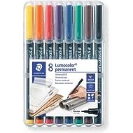 Assorted Colours Wallet of 4 STABILO Fine Non-Permanent OHP Pen