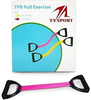 TA Sports TPR Pull Exerciser 11mmx2mmx48cm Pink Ta Sp - ASL972