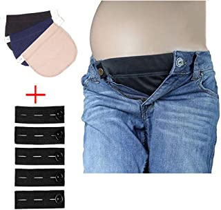 Belly Belt Combo Maternity Belly Band Adjustable Elastic pants Expectant Mothers Pregnant Women Solution