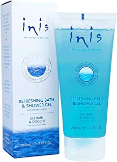 Inis the Energy of the Sea Refreshing Bath and Shower Gel, 7 Fluid Ounce