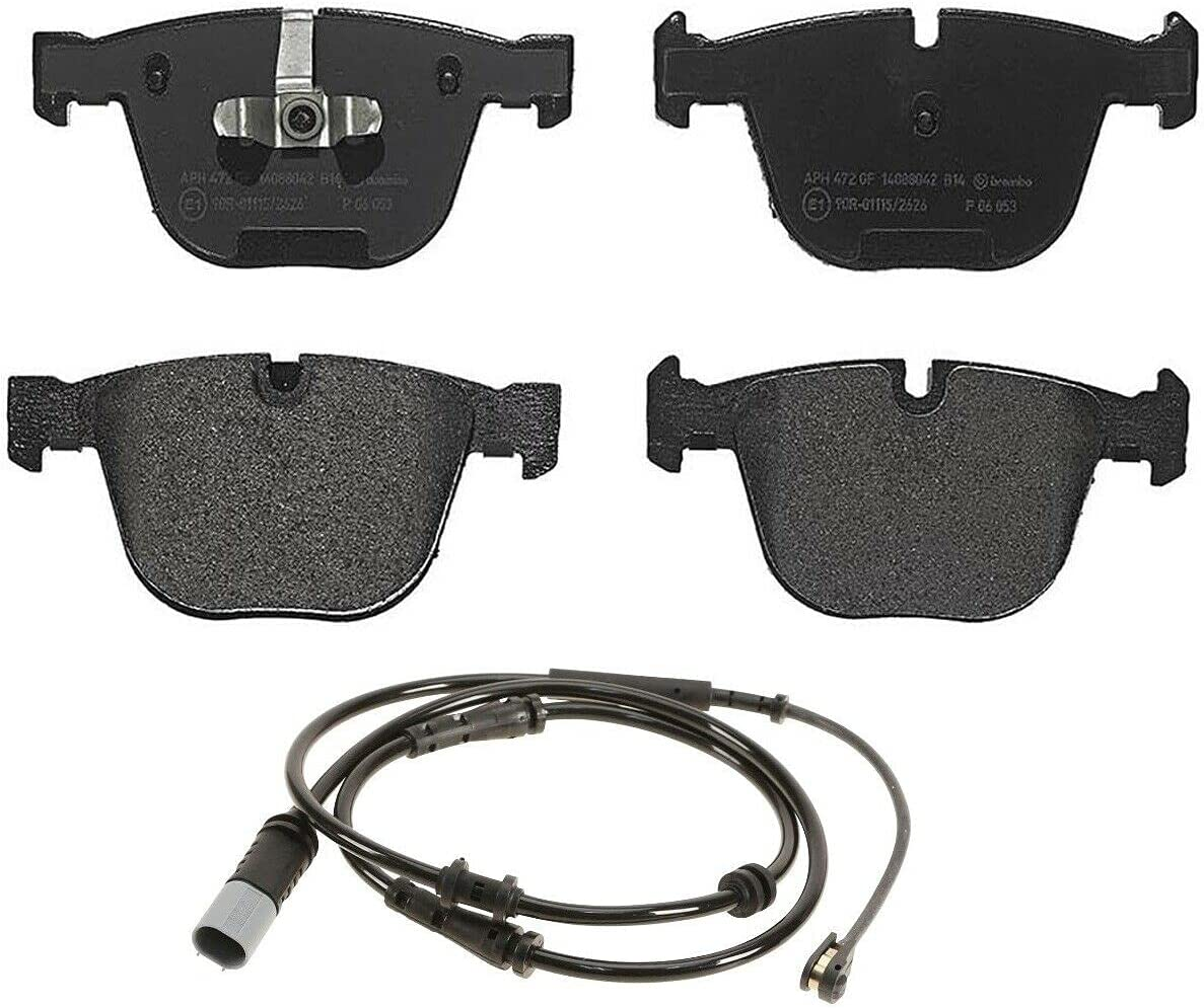 2021 autumn and winter new Rear Low-Metalic Brake Pad Set Sensor with F unisex BMW Compatible