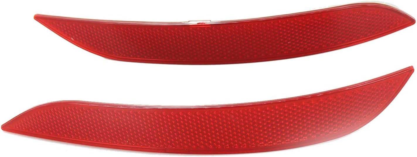 Car Rear Tail Bumper Corner Reflector Decorative 100% quality warranty! Light Rare False Lam