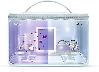 Esterilizador UV, 59S esterilizador UV, bolsa LED con 24 perlas de lámpara, esterilización rápida del 99,9%, adecuado para ropa interior, tabletas, teléfonos móviles, ratones, vasos, etc.