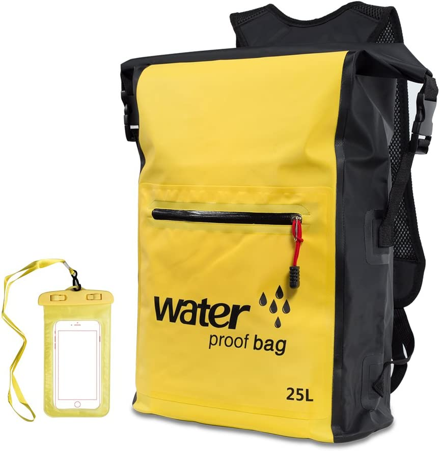 Vaneliss Waterproof Dry Bag Floating with 当店一番人気 Backpack L お買得 Lightweight