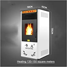 Estufa De Pellets Chimenea De Pellets La biomasa de pellets de calefacción Estufa Hogar interior de la sala de Protección Ambiental comercial sin humo inteligente automático de calefacción Estufa