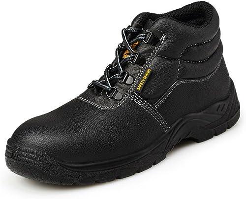 Chaussure Securité Homme Avec Embout de Sécurité en Acier Bottes