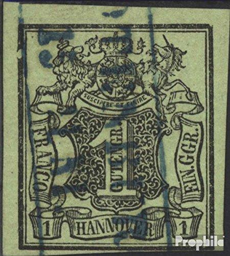Prophila Collection Hannover (Altdeutschland) 2 (kompl.Ausg.) Pracht 1851 Wertschild (Briefmarken für Sammler)