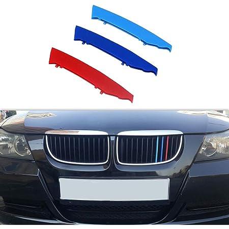 1 Set Front Lower Bumper Grilles Cover Trim for BMW 3 Series E90 //E91 2008-2012