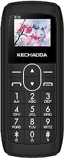 KECHAODA K10 Finger Bluetooth Phone, Single SIM, 0.66 inch Display, 300mAh Battery, DAILER, Wireless FM, BIS Certified (Bl...