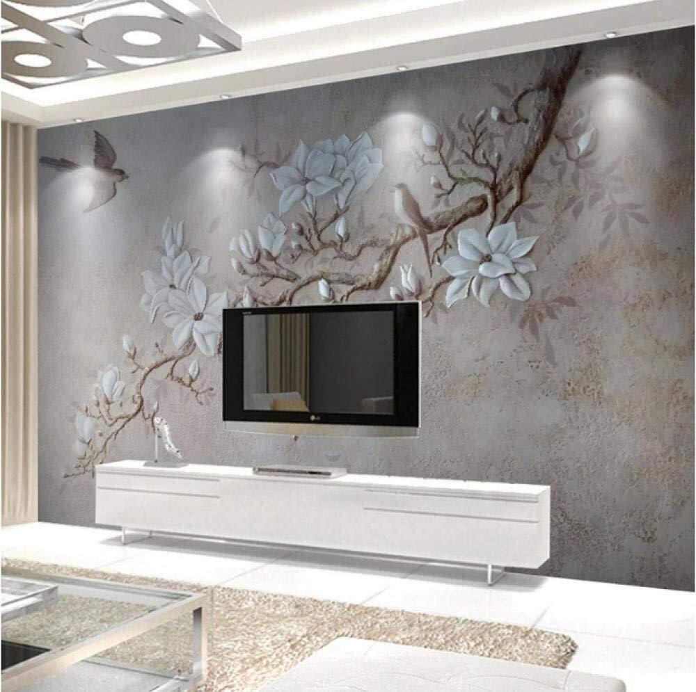 MTCWD Fondo de Pantalla de Arte del flanco Habitación Pintar Dormitorio Sala de Estudio Decoración de Pared (Color : 450x300cm (177.17 by 118.11 In)): Amazon.es: Hogar
