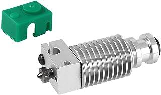 Benkeg PT100 Prusa I3 MK3 3Dプリンターと互換性のあるコレットクリップV6ノズル1.75mmフィラメントホットエンド付きヒートシンク押出機ラジエーター