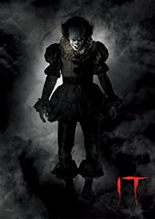 MightyPrint IT Chapter 1 - Pennywise The Dancing Clown - Smoky - Unique Wall Art - Not a Paper Poster - Durable Print - Movie Collectible - Perfect for Gifting and Collecting