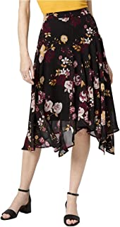 LE CHÂTEAU Floral Print Chiffon Skirt