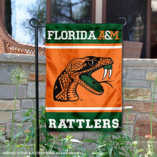 College Flags & Banners Co. Florida A&M Rattlers Garden Flag