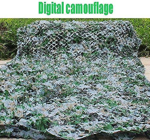 WNpb 2m × 3m Oxford Sands Numérique Jungle Camouflage Net Neige Océan Net Camouflage, Chasse Tir Camouflage, Photographie en Plein Air Décoration, Abri de Camping