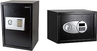 Digital Safe – Electronic, Extra-Large, Steel, Keypad, 2 Manual Override Keys by Stalwart & Amazon Basics Steel, Security ...