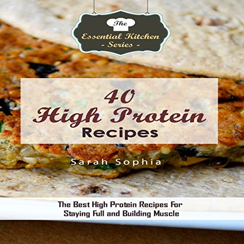 40 High Protein Recipes cover art