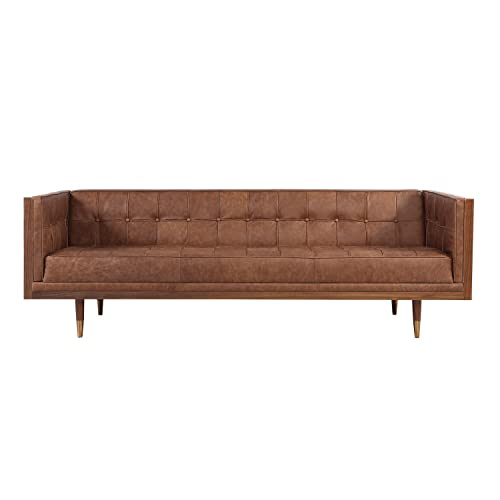 Vintage Leather Sofa Amazon Com