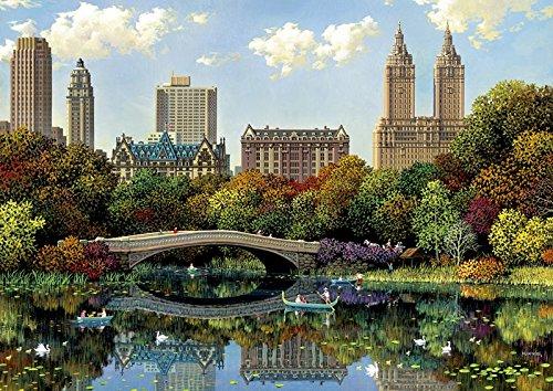 Educa Borrás - 8000 Central Park Bow Bridge, Alexander Chen, Puzzle (17136)