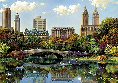 Educa Borrás - 8000 Central Park Bow Bridge, Alexander Chen, Puzzle (17136)