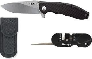 Zero Tolerance 0562CF Hinderer Slicer Knife (With Bonus Pack)
