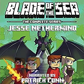 Blade of the Sea, the Complete Series audiobook cover art