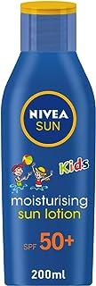 لوشن الشمس المرطب للأطفال، صن كيدز مويستشرايزنغ من نيڤيا، مع عامل الحماية من الأشعة فوق البنفسجية UVA وUVB، وعمال الحماية ...