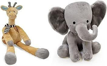 Bedtime Originals Choo Choo Express Plush - Elephant Humphrey & Giraffe Cornelius