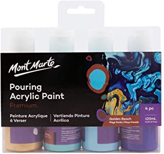 Mont Marte Pour Paint Set PMPP4003