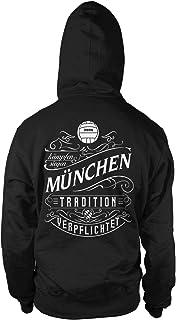 Mein Leben München Männer und Herren Kapuzenpullover   Fus
