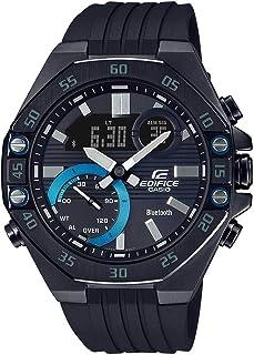 ساعة ايديفيس ECB-10PB-1ADF بنظام توصيل بلوتوث انالوج ورقمي من كاسيو
