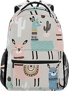 حقائب ظهر مدرسية حقيبة ظهر لطالب حصان الزهور كبيرة للبنات والأطفال مدرسة الابتدائية حقيبة الكتف حقيبة الكتب