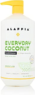 Alaffia EveryDay Coconut Conditioner, Purely Coconut. Ultra Hydrating Conditioner for Normal to Dry Hair. Made with Fair T...